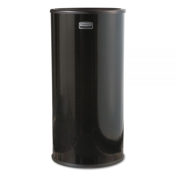 Rubbermaid Commercial Smokers' Urn, Sand, Black