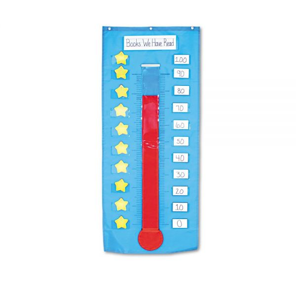 Thermometer/Goal Gauge Pocket Chart
