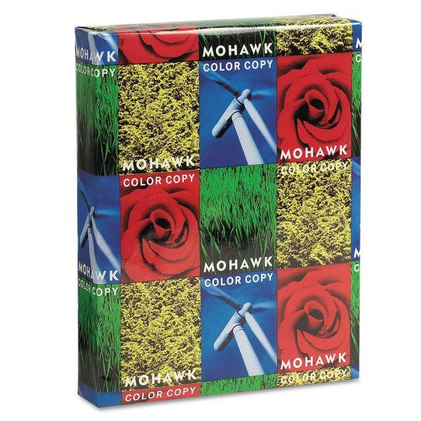Mohawk Copier Gloss Cover Paper, 100lb, 94 Brightness, Letter, Pure White, 250 Shts
