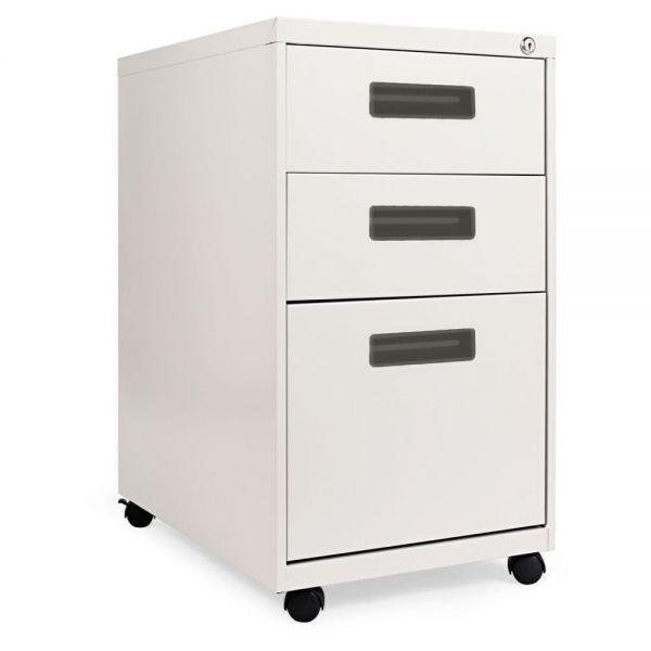 Alera Three-Drawer Mobile Pedestal File