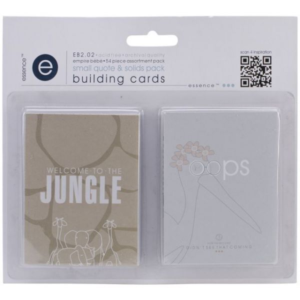 Empire Bebe Building Cards 54/Pkg