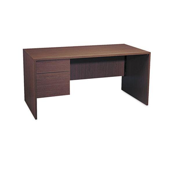 Global Genoa Series Single Left Pedestal Computer Desk