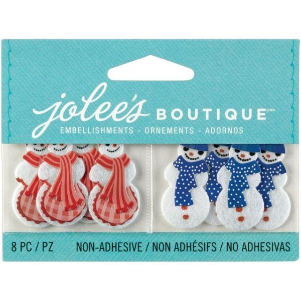 Jolee's Christmas Embellishments 8/Pkg