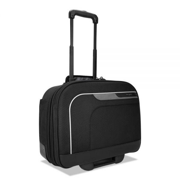 """Targus Mobile Elite Overnight TSA Rolling Case, 14"""", 9 1/4 x 16 3/4 x 14 1/4, Black"""
