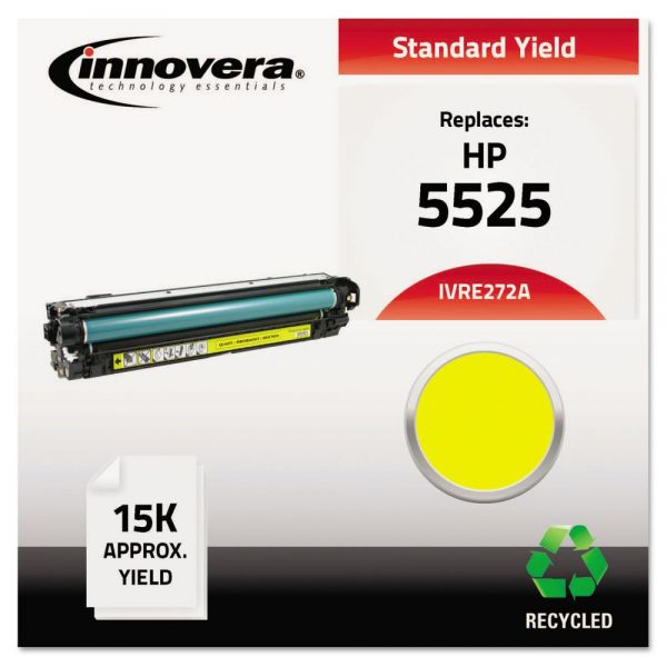 Innovera Remanufactured HP 5525 (CE272A) Yellow Toner Cartridge