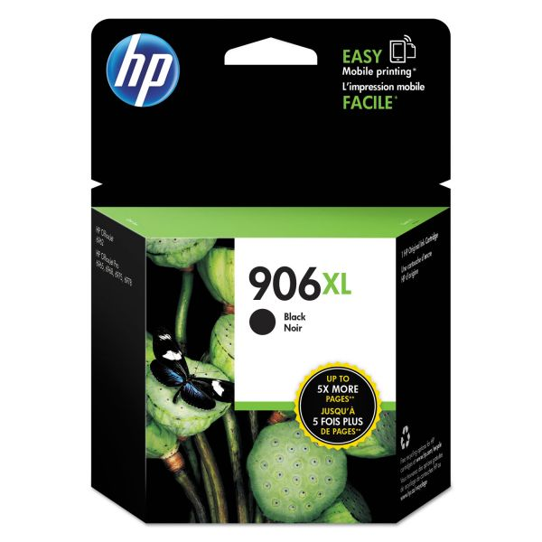 HP 906XL High-Yield Black Ink Cartridge (T6M18AN)