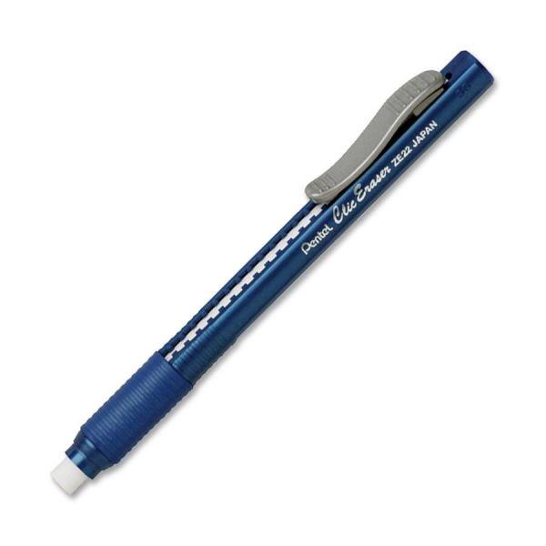 Pentel Clic Eraser with Rubber Grip