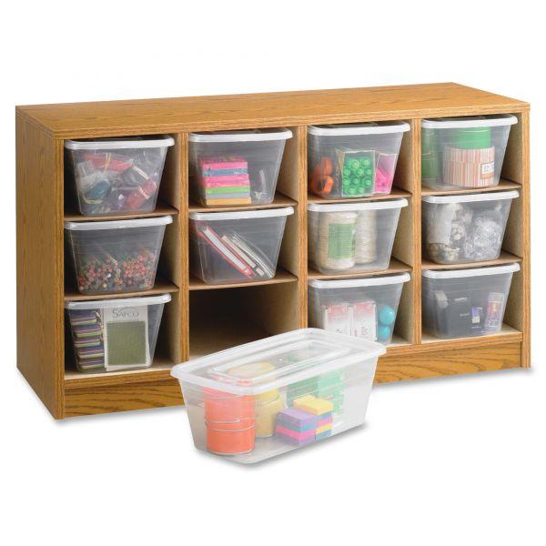 Safco Modular Wood/Plastic Organizer