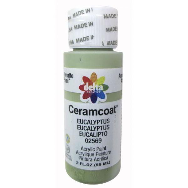 Ceramcoat Eucalyptus Acrylic Paint