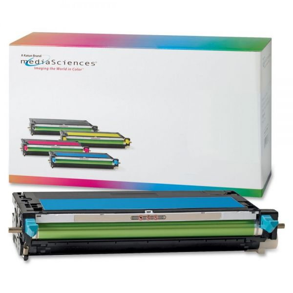 Media Sciences Remanufactured Xerox 106R01392 Cyan Toner Cartridge