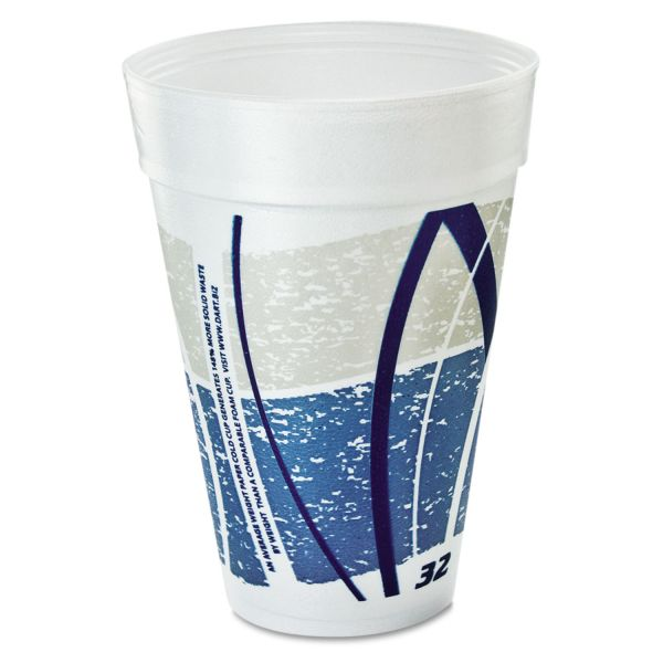 Dart Impulse 32 oz Foam Cups