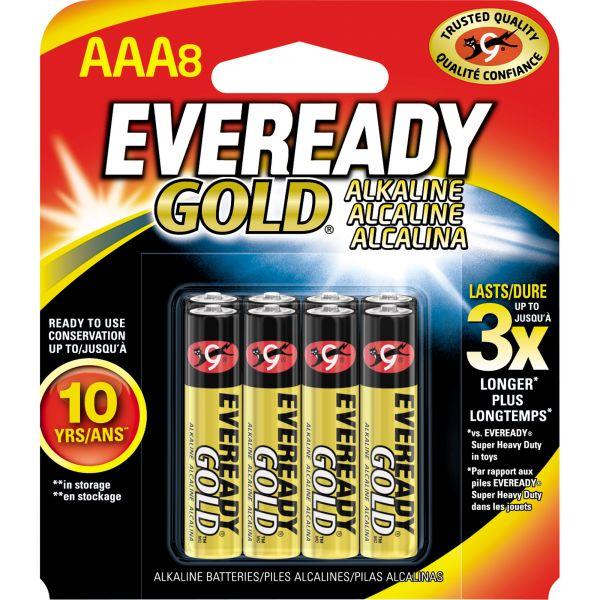 Eveready Gold Alkaline AAA Batteries