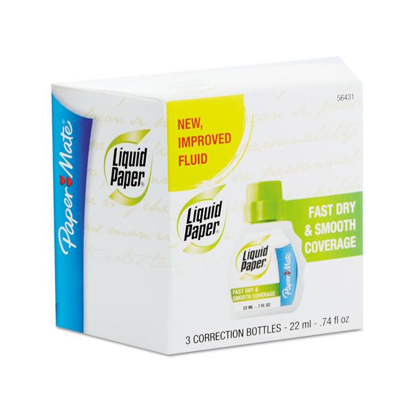 Liquid Paper Fast Dry & Smooth Correction Fluid