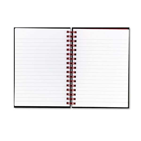 Black n' Red Wirebound Notebook