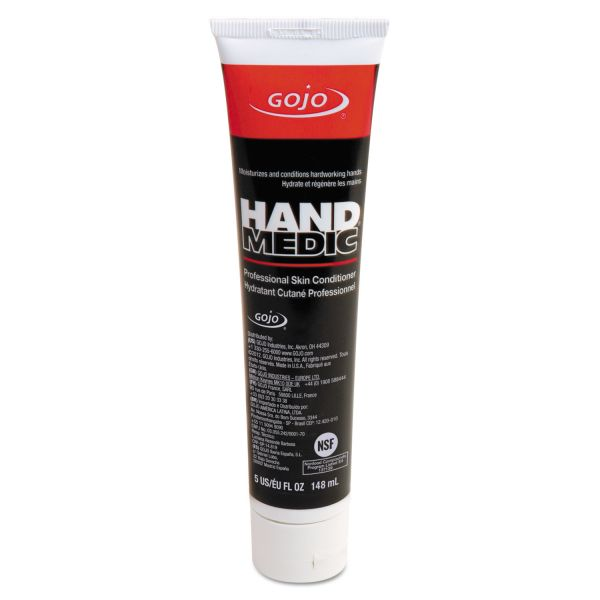 GOJO HAND MEDIC Professional Skin Conditioner, 5oz Tube, 12/Carton