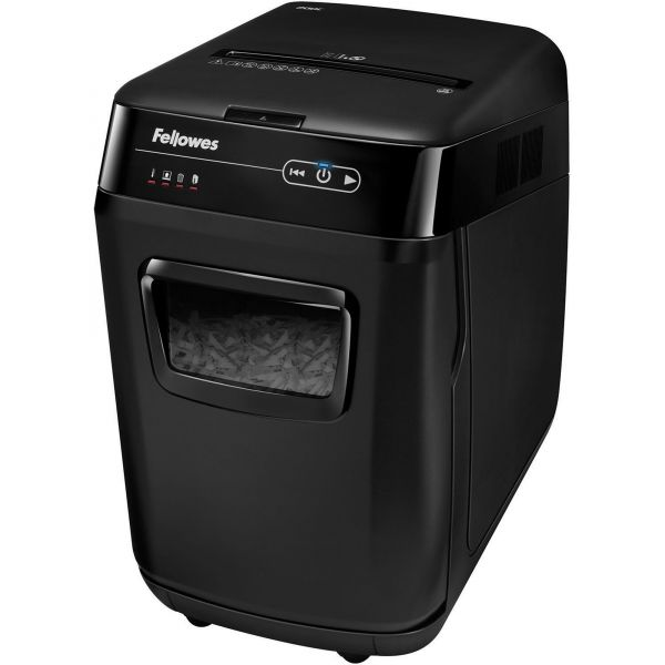 Fellowes AutoMax 200C Medium-Duty Cross-Cut Shredder