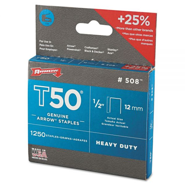 Arrow T50 Heavy Duty Staples