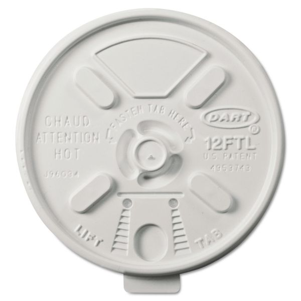 Dart Lift-n-Lock Coffee Cup Lids