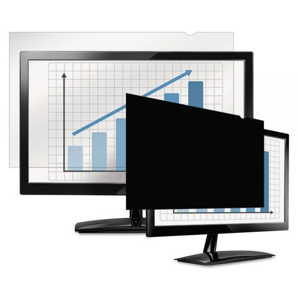 "Fellowes PrivaScreen Blackout Privacy Filter for 20"" Widescreen LCD/Notebook, 16:9"