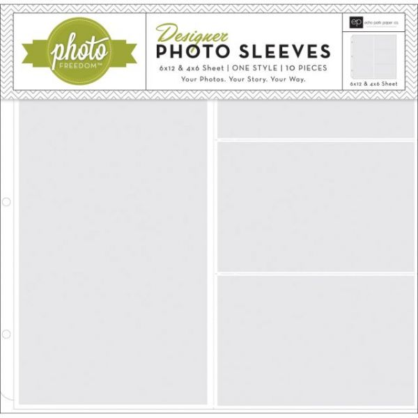 "Photo Freedom Photo Sleeves Protectors 12""X12"" 10/Pkg"