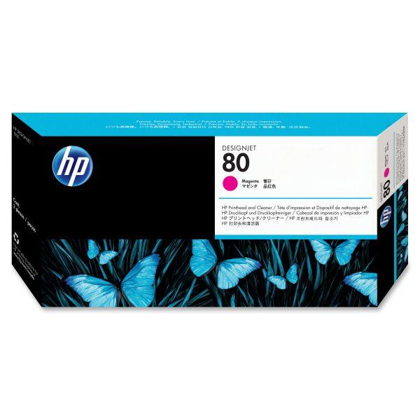 HP 80 Magenta Printhead & Cleaner (C4822A)