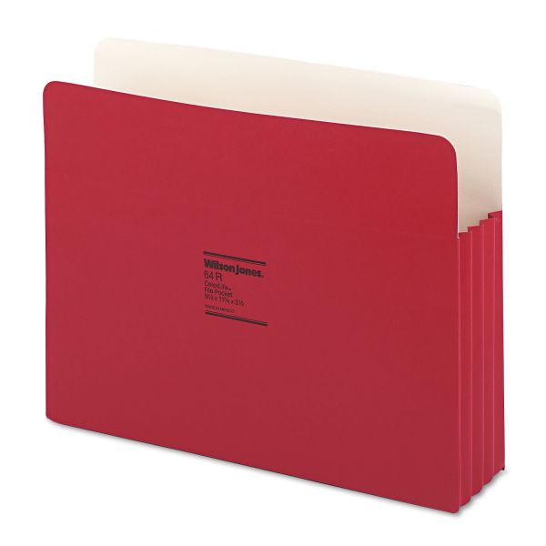Wilson Jones ColorLife File Pockets