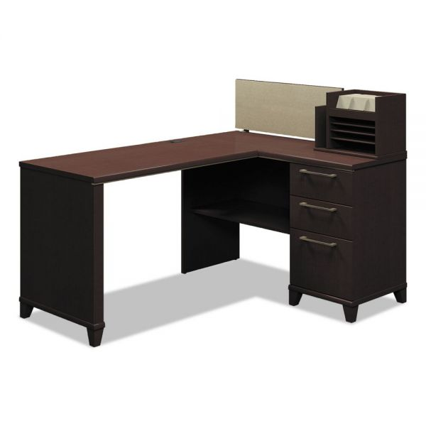 Bush Furniture Enterprise Corner Office Desk *Box 1 of 2