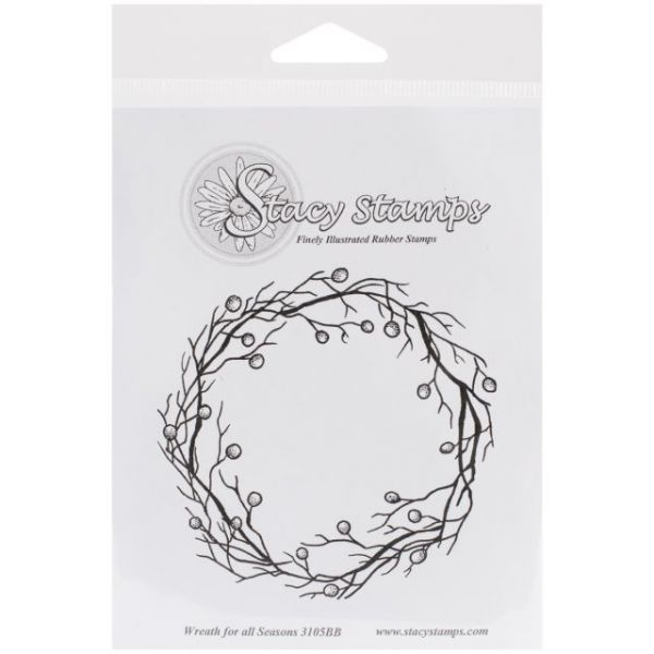 """Stacy Stamps Cling Mounted Stamps 3.5""""X3.5"""""""