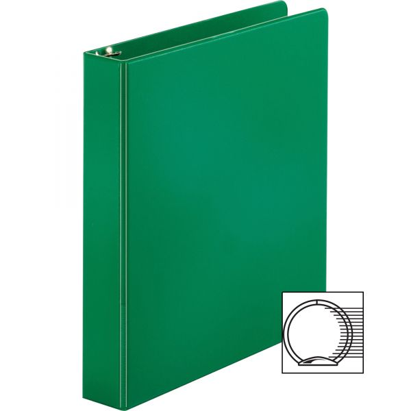 "Business Source 1 1/2"" 3-Ring Binder"