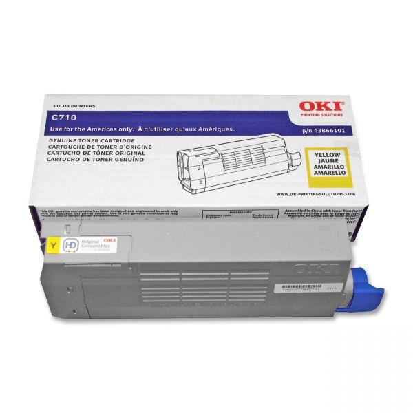 Oki 43866101 Yellow Toner Cartridge
