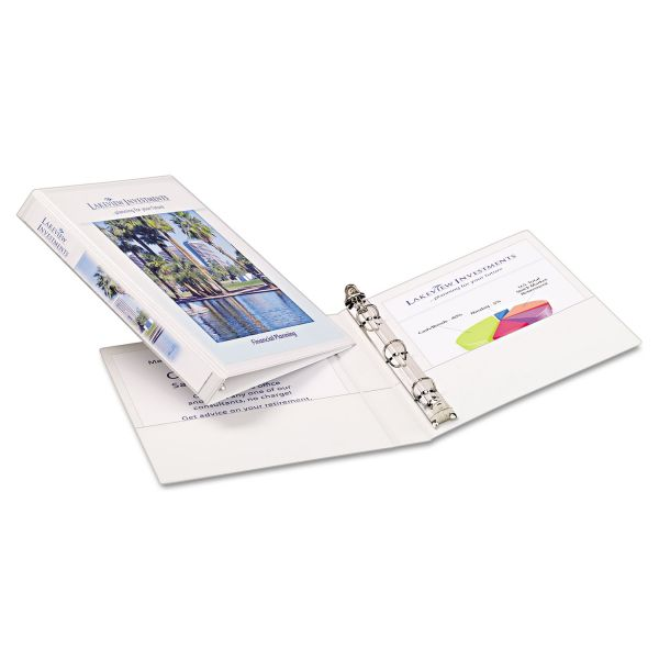 "Avery Durable Vinyl 1/2"" 3-Ring View Binder"