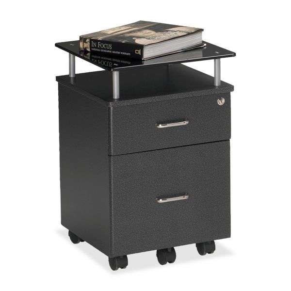 Mayline Eastwinds Vision Locking Box/File Pedestal