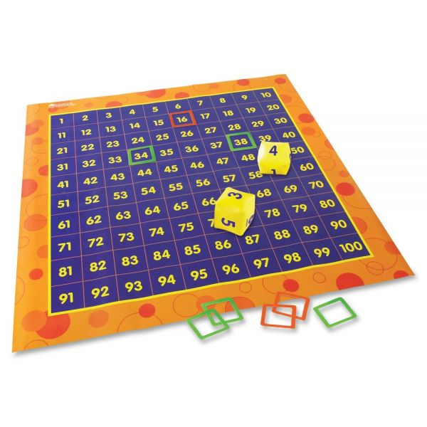 Learning Resources Hip Hoppin' Hundred Mat Floor Game