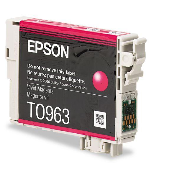 Epson T0963 Magenta Ink Cartridge (T096320)