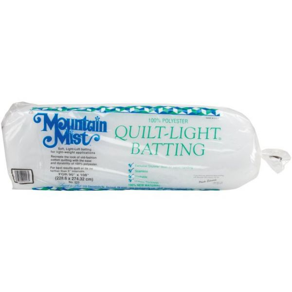 Mountain Mist Quilt-Light Polyester Batting