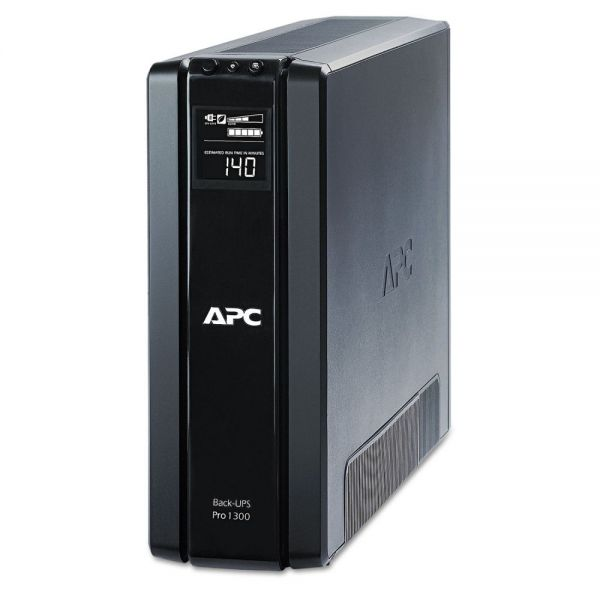 APC BR1300G Back-UPS Pro 1300 Battery Backup System, 10 Outlets, 1300 VA, 355 J