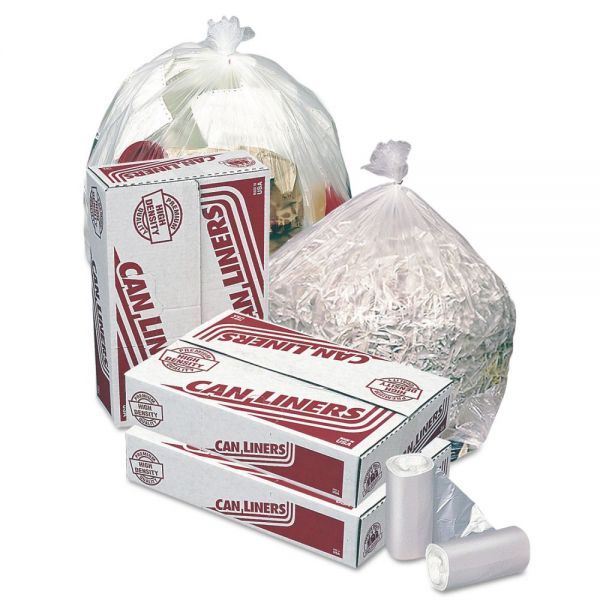 Pitt Plastics High-Density Mini-Roll 12-16 Gallon Trash Bags