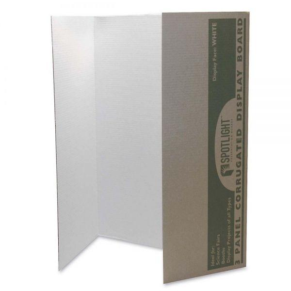 Pacon Spotlight Single-walled Tri-fold Presentation Board