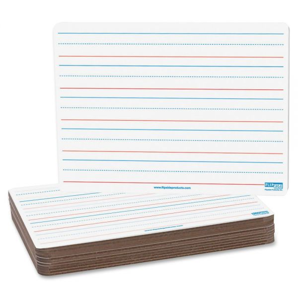 Flipside 2-Sided Magnetic Ruled DryErase Board Pack