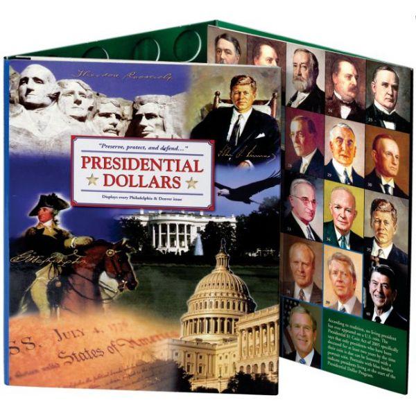 Presidential Dollar Color Folder