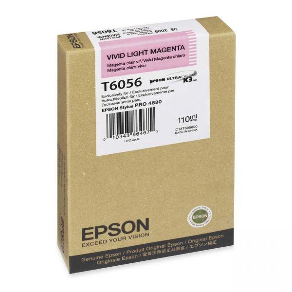 Epson T605C Light Magenta Ink Cartridge (T605C00)
