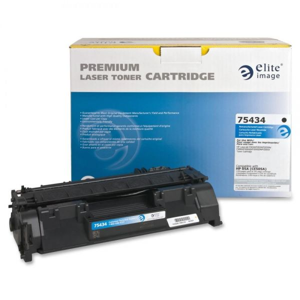 Elite Image Remanufactured HP 05A (CE505A) Toner Cartridge