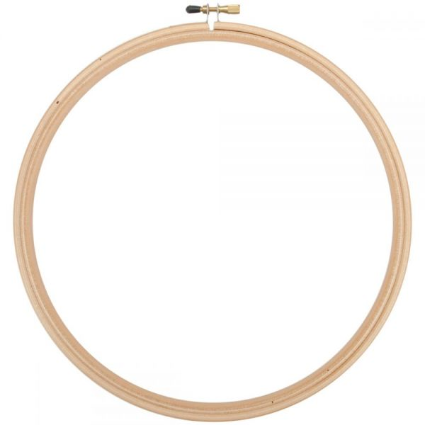 Wood Embroidery Hoop W/Round Edges 10""