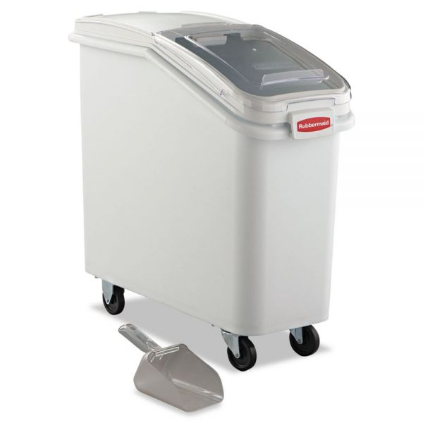 Rubbermaid Commercial ProSave Mobile Ingredient Bin with Scoop