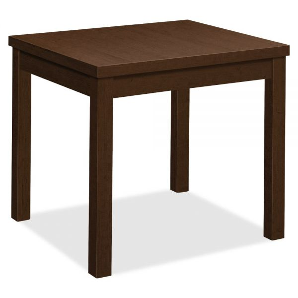 "HON Laminate End Table | 24""L x 20""W x 20""H"