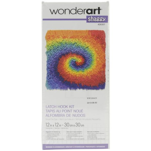 Wonderart Shaggy Latch Hook Kit