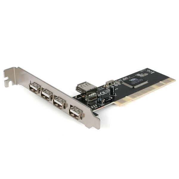 StarTech.com USB adapter card - PCI - Hi-Speed USB - 5 ports