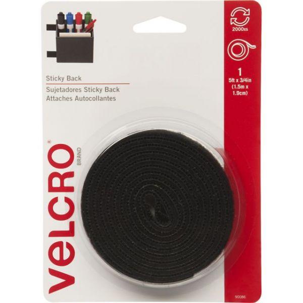 """VELCRO(R) Brand STICKY BACK Tape 3/4""""X5'"""