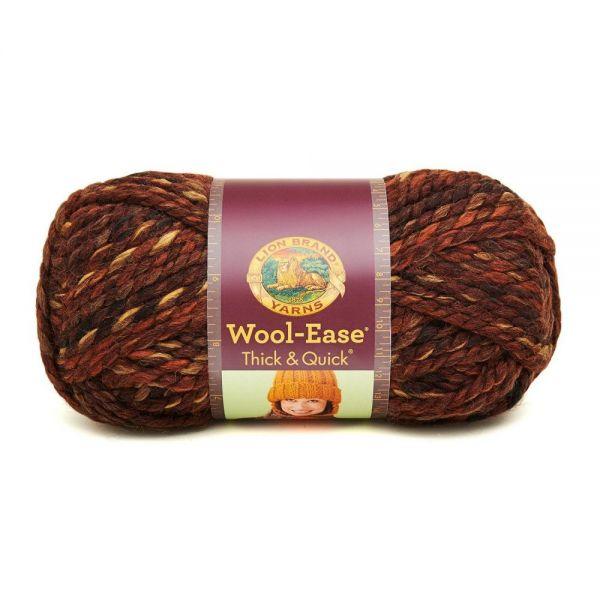 Lion Brand Wool-Ease Thick & Quick Yarn - Sequoia Print