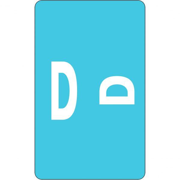 Smead AlphaZ ACCS Color-Coded Alphabetic Label - D